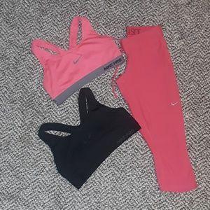 Nike work out bundle